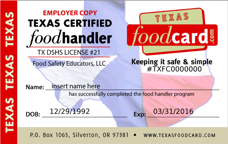 Food Handlers Card By Soulcomplex On Deviantart
