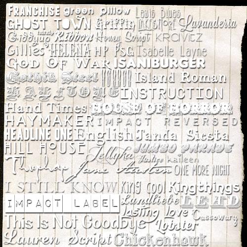 Font Pack 03 by reallydeadgirl on DeviantArt