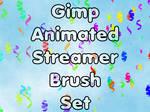 Gimp Animated Streamer Brushes