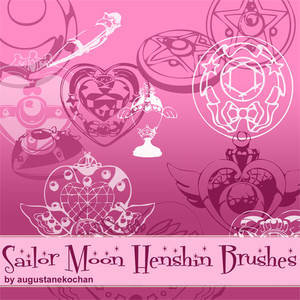 Sailor Moon Henshin Brushes