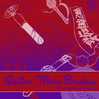 Sailor Mars Brushes by augustanekochan