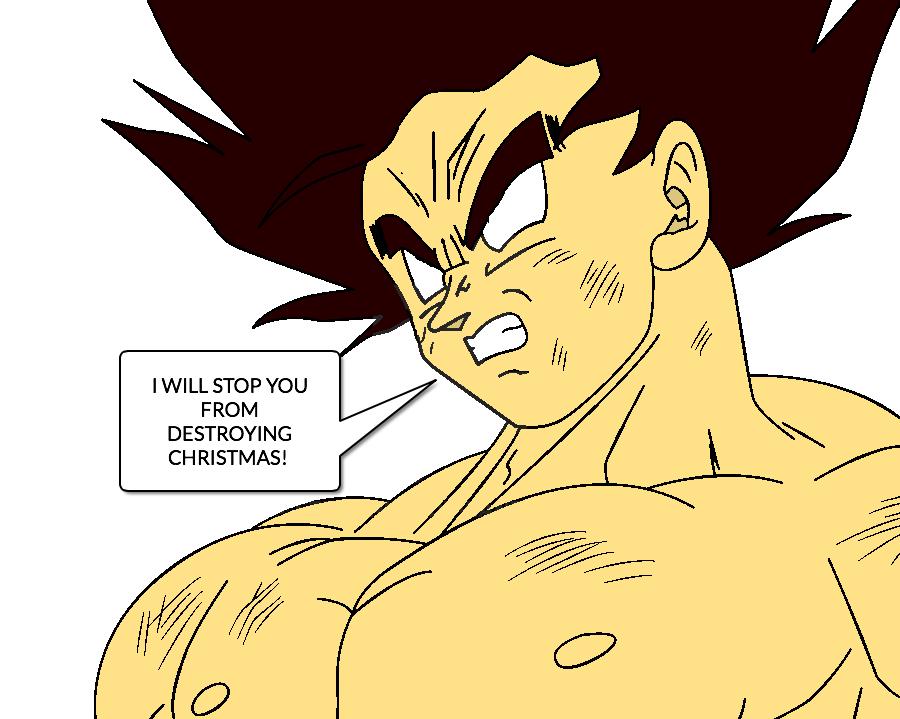 Goku FSSJ (DBZ Abridged) by JordanMcFighter on DeviantArt