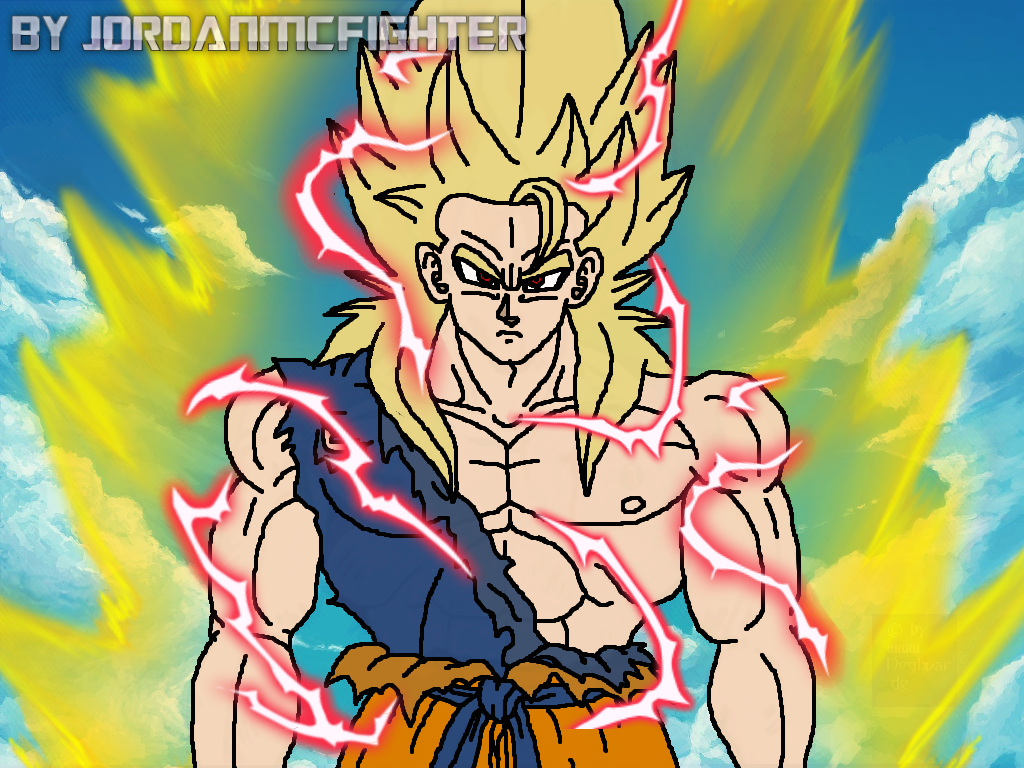 THIS IS WHAT A TRUE SAIYAN LOOKS LIKE! by Nassif9000 on ...