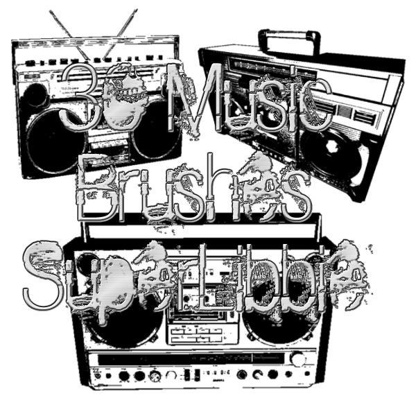 Music Brushes by superlibbie