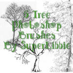 6 Tree Photoshop Brushes
