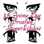 Anime Eyes Photoshop Brushes 2