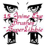 Anime Eyes Photoshop Brushes 2