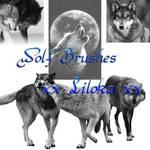 Wolf Brushes