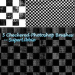 5 Checkered PS Brushes