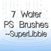 Water Brushes - Image pack by superlibbie