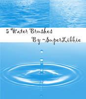 Water Brushes II by superlibbie