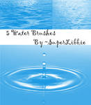 Water Brushes II by superlibbie