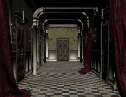 corridor by Ecathe