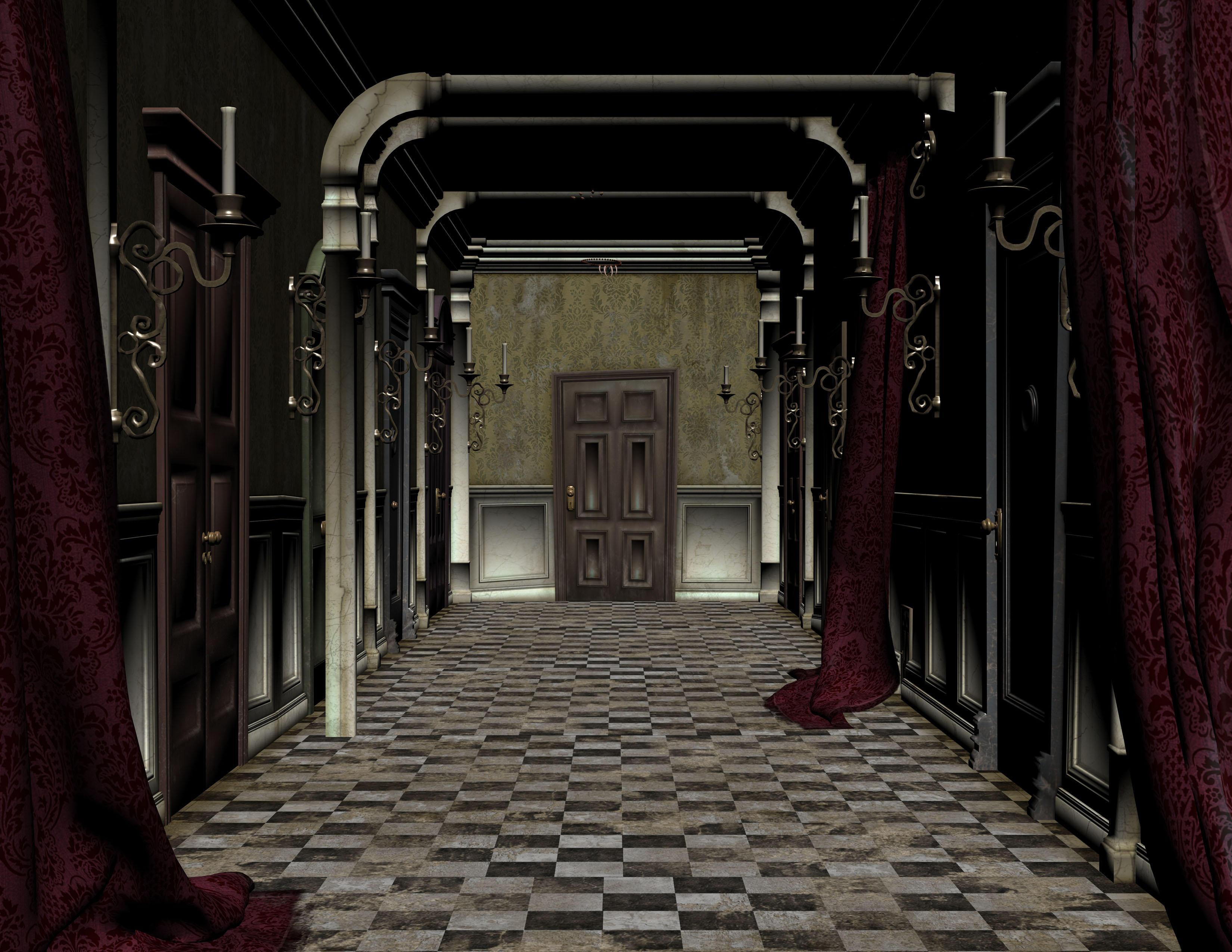 Corridor by ecathe on deviantart - Wallpaper corridor ...