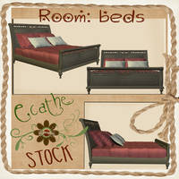 Bed stock pack 01 by Ecathe