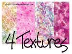4 textures stock