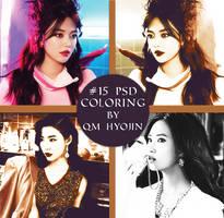 #15 PSD COLORING by QM HyoJin by qm-hyojin
