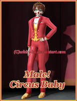 FNAF SL Genderbend: Male!Circus Baby {DL Close} by White-Hu