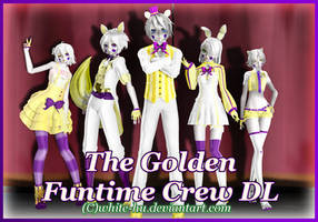 FNAF SL Oc: Golden Funtime {DL down for now} by White-Hu
