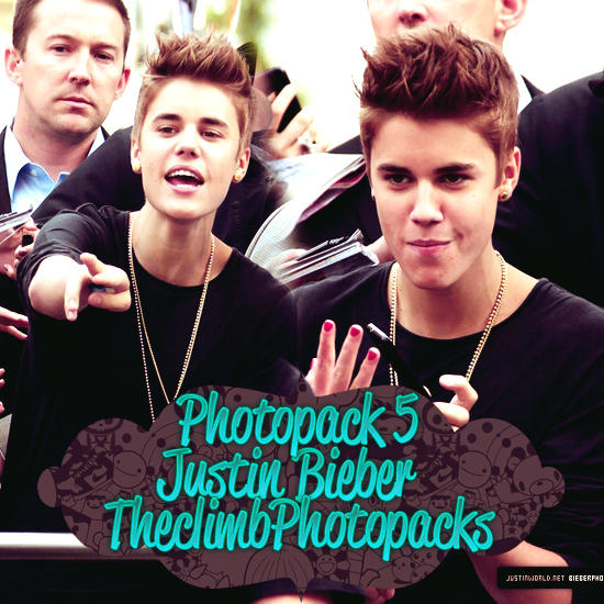 Photopack #5 Justin Bieber by TheClimbPhotopacks