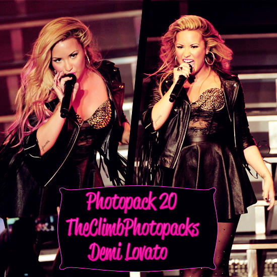 Photopack #20 Demi Lovato by TheClimbPhotopacks