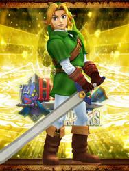 Link - Hyrule Warriors (OoT PM) by Hakirya