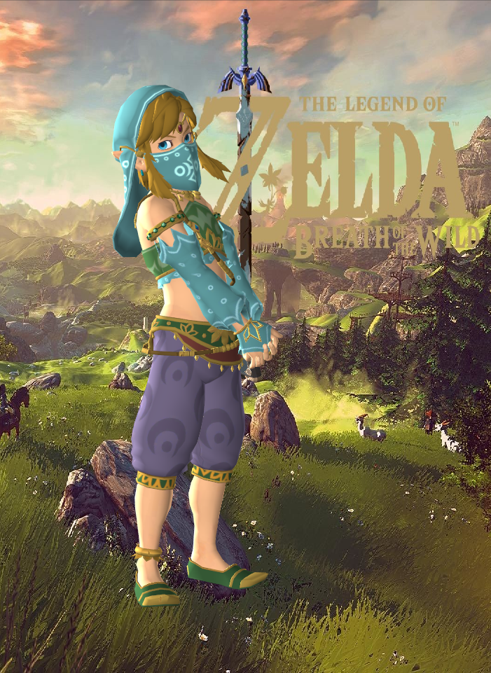 Link - Breath of the Wild (Gerudo Girl) by Hakirya on DeviantArt