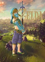Link - Breath of the Wild (Gerudo Girl) by Hakirya