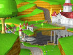 Peach's Castle - Super Mario Galaxy