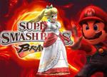 Peach - Super Smash Bros Project M (Fire)