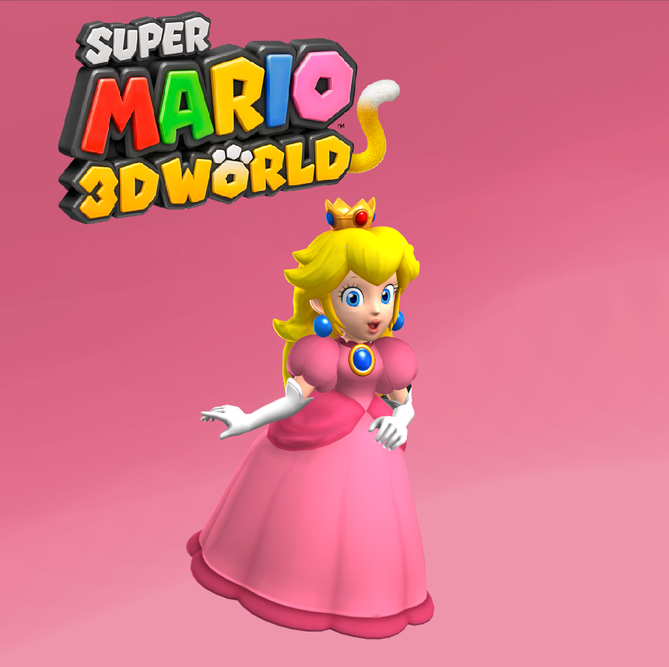 Peach - Super Mario 3D World by Hakirya on DeviantArt