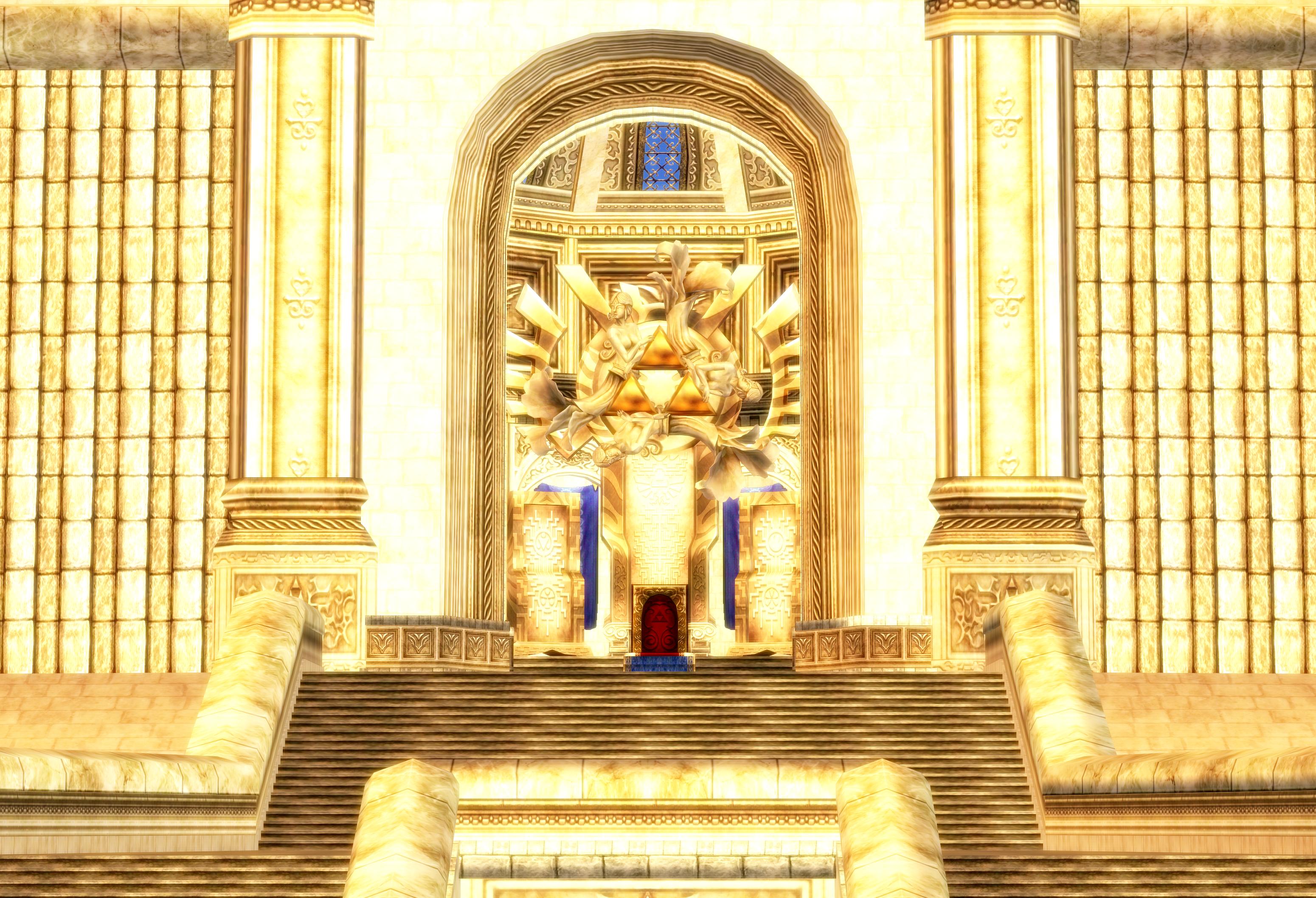 Hyrule Castle Throne Twilight Princess By Hakirya On Deviantart