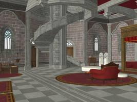 Zelda's Room (Past) - Breath of the Wild by Hakirya