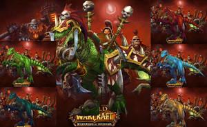 Raptor (Draenor) - World of Warcraft by Hakirya