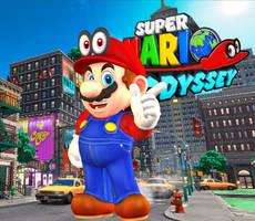 Mario (Default) + Cappy Eyes - Super Mario Odyssey by Hakirya