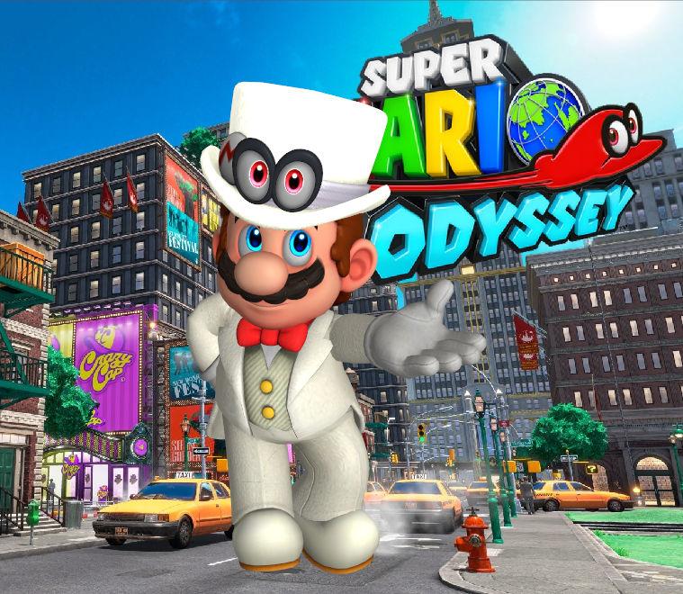 Mario Tuxedo Cappy Eyes Super Mario Odyssey By Hakirya On Deviantart