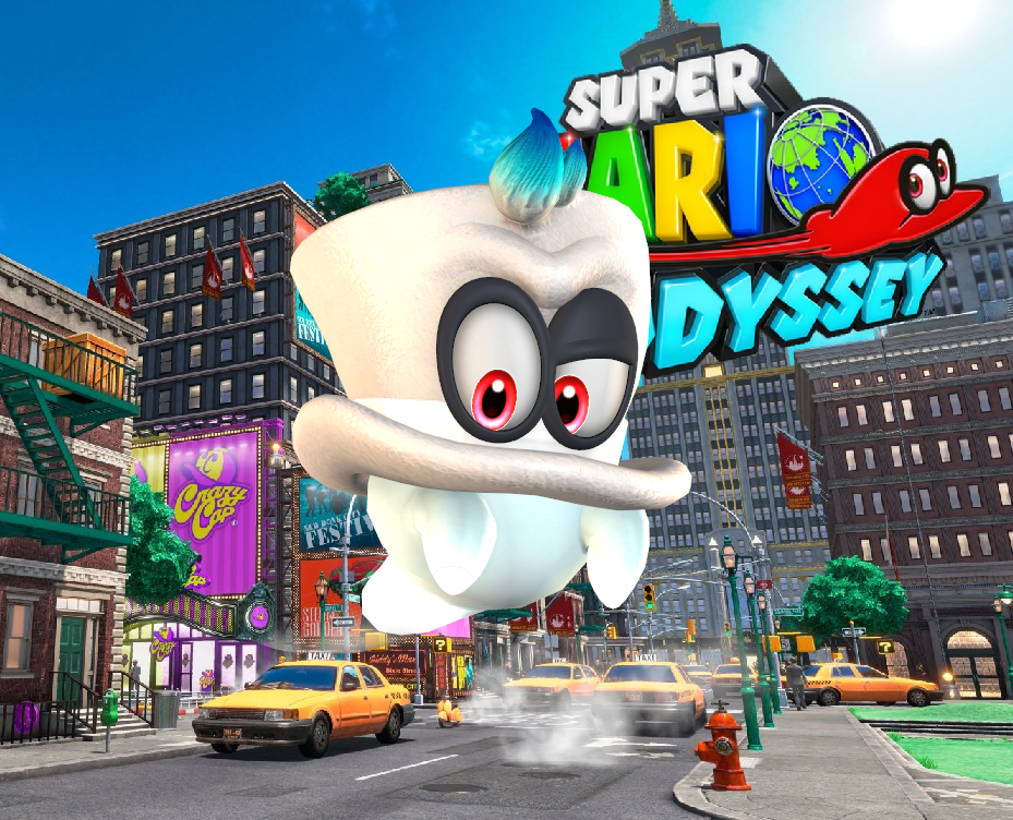 09c7156c3df Cappy - Super Mario Odyssey by Hakirya on DeviantArt