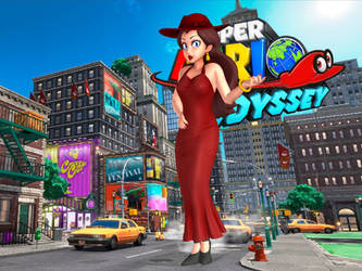 Pauline (Default) - Super Mario Odyssey by Hakirya