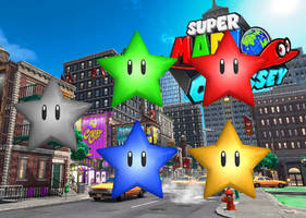 Power Star - Super Mario Odyssey by Hakirya