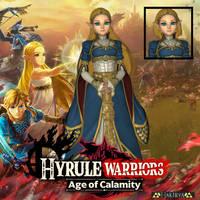 Princess Zelda - Smash Ultimate (Age of Calamity)