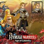 Winter Zelda - Smash Ultimate (Age of Calamity) by Hakirya