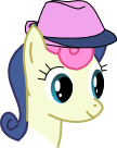 BonBon+Fedora icon by DoNotReadThis1
