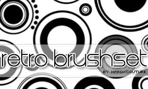 retro brushset by hardxcouture