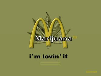 Mc Weed - The boot Screen by Club-Marijuana