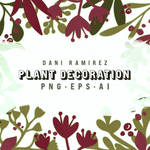 Plant Decoration Assets by luckeri