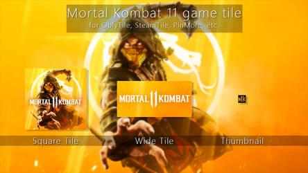 Mortal Kombat 11 Tile Icon by ENIGMAXG2