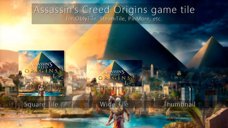 Assassin's Creed Origins Tile Icon by ENIGMAXG2