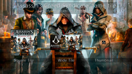 Assassin's Creed Syndicate Tile Icon by ENIGMAXG2