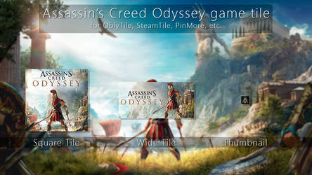 Assassin's Creed Odyssey Tile Icon by ENIGMAXG2