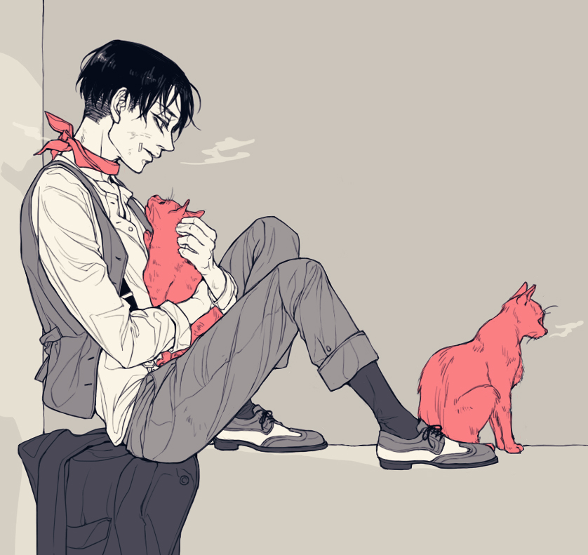 Levi Ackerman x Reader: Kittens by AngelicMikasa on DeviantArt